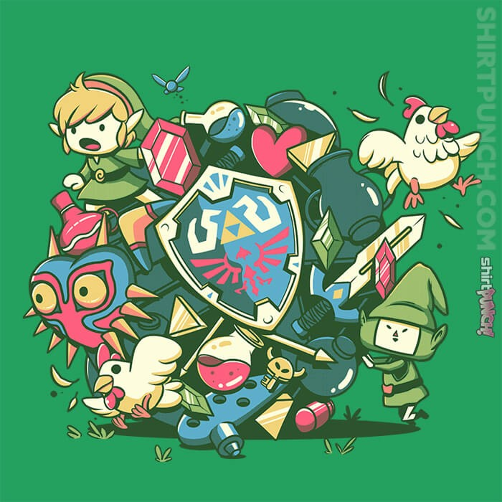 ShirtPunch: Let's Roll Link