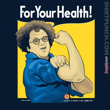 ShirtPunch: For Your Health