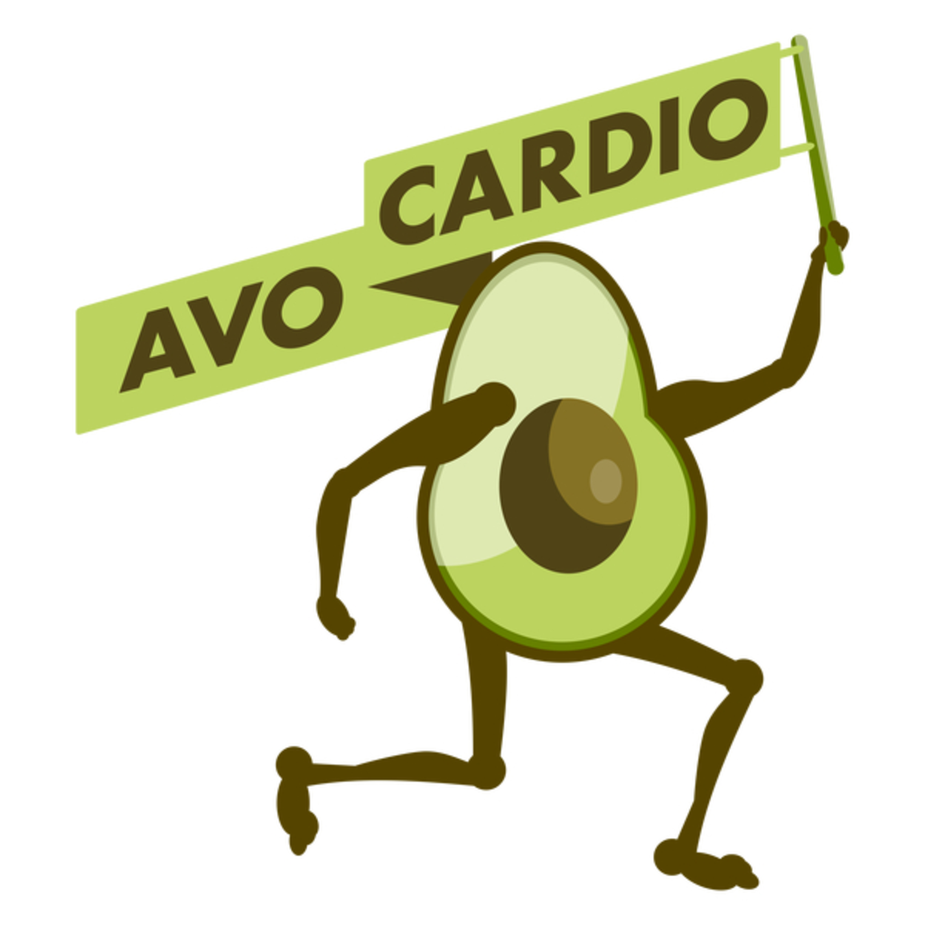 NeatoShop: Avocadio funny cardio