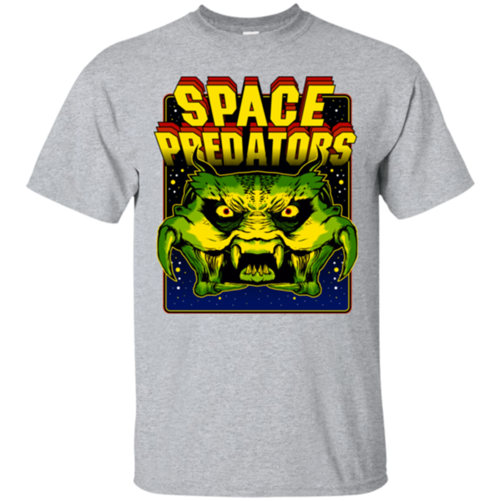 Pop-Up Tee: Space Predator