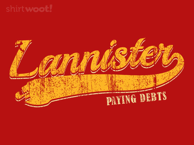 Woot!: Paying Debts