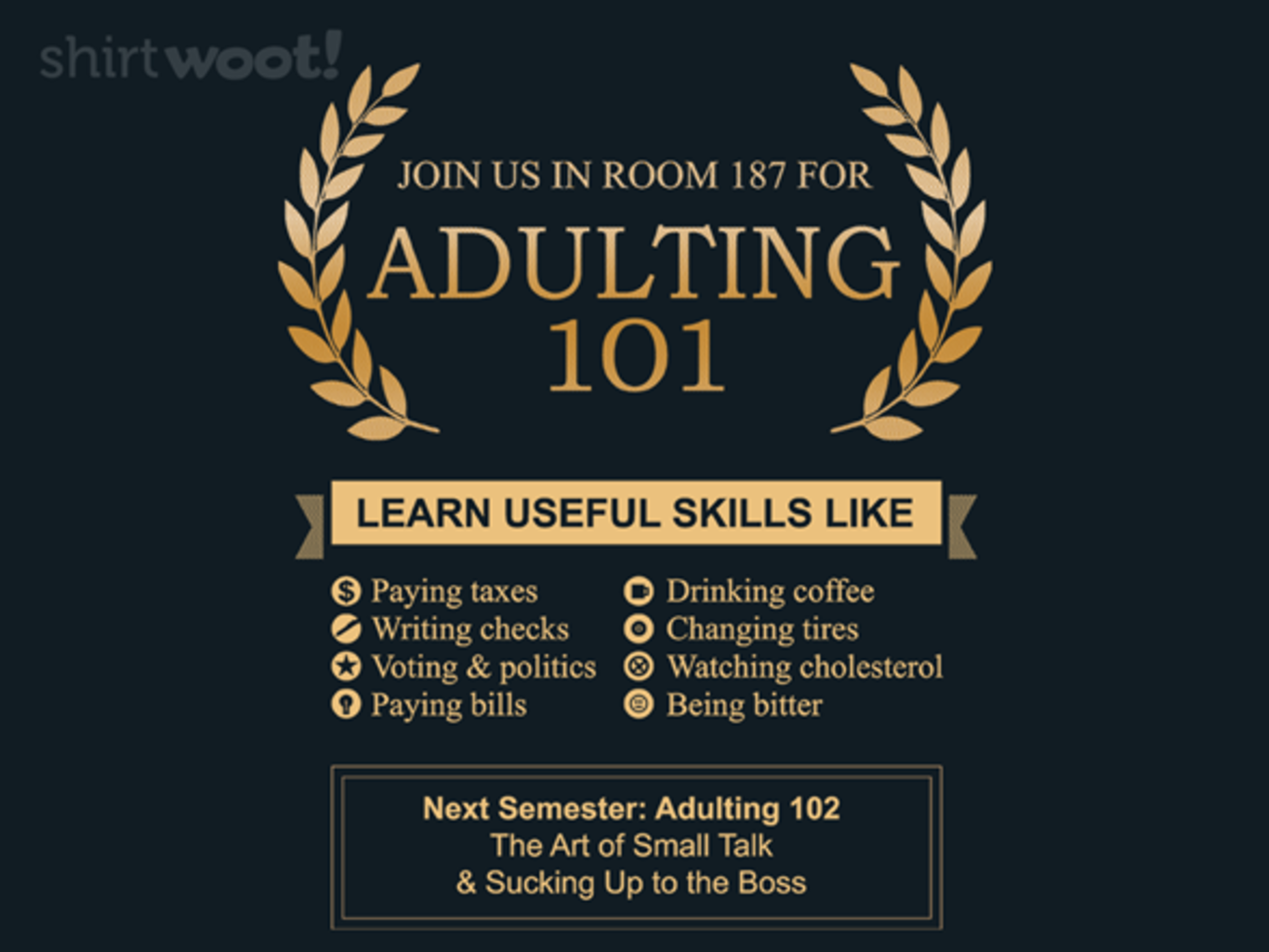 Woot!: Adulting 101