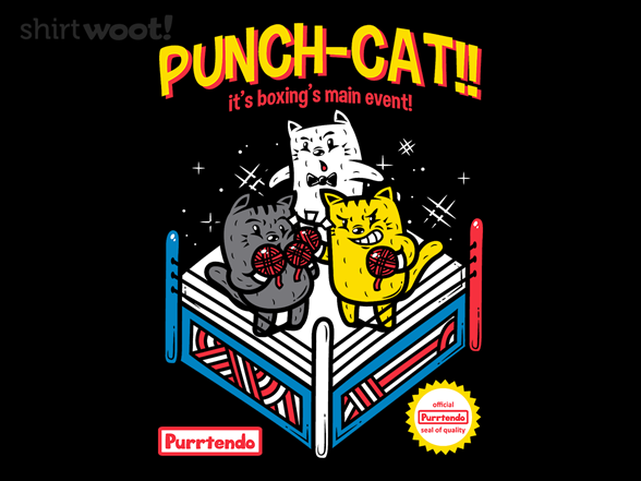 Woot!: Punch-cat!
