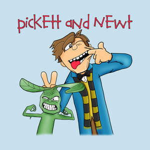 TeePublic: Pickett and Newt T-Shirt