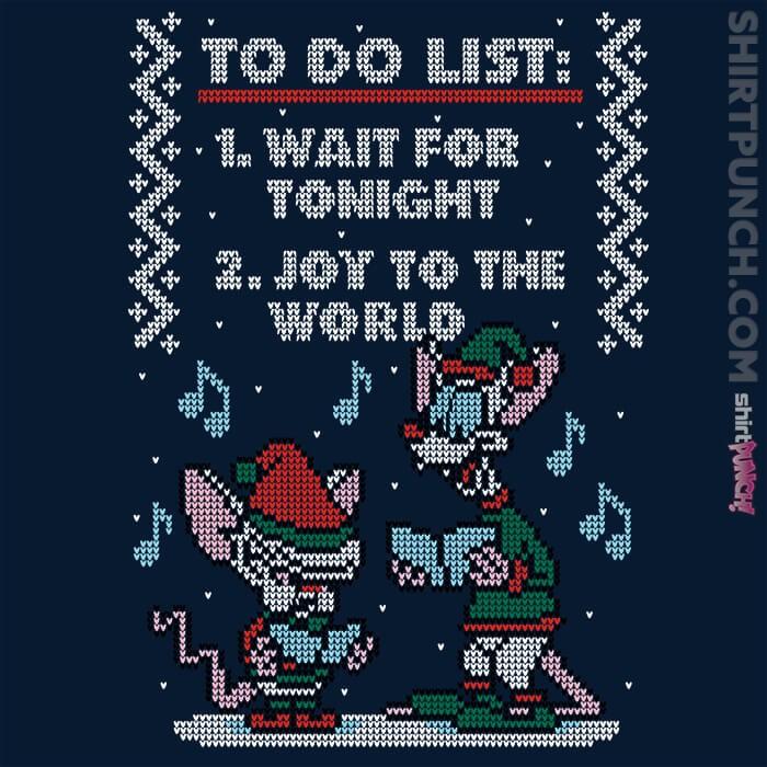 ShirtPunch: Christmas List
