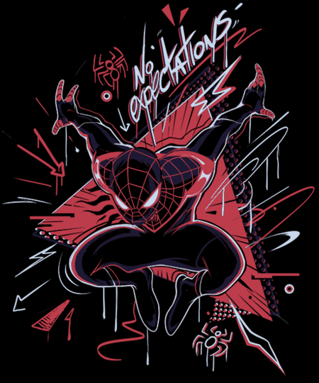 Qwertee: No Expectations