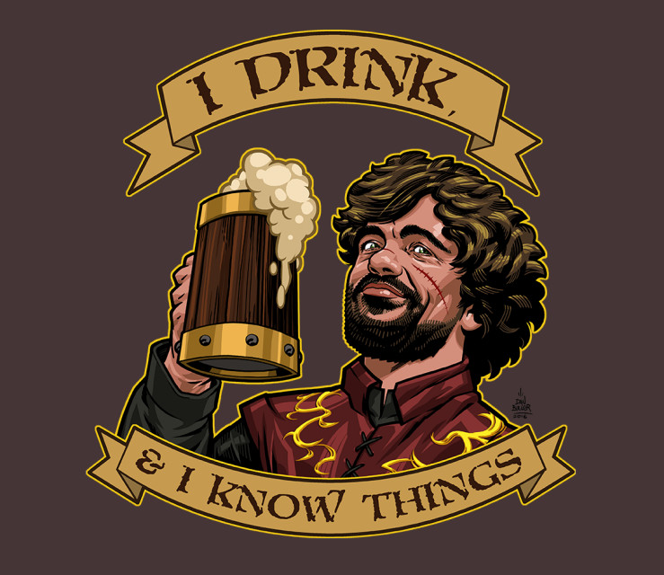 TeeFury: He Drinks