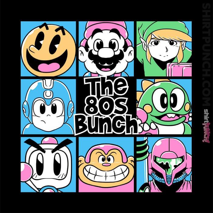 ShirtPunch: The 80s Bunch