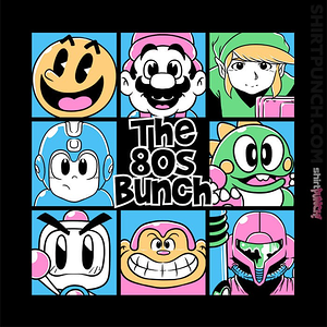 ShirtPunch: The 80s Bunch