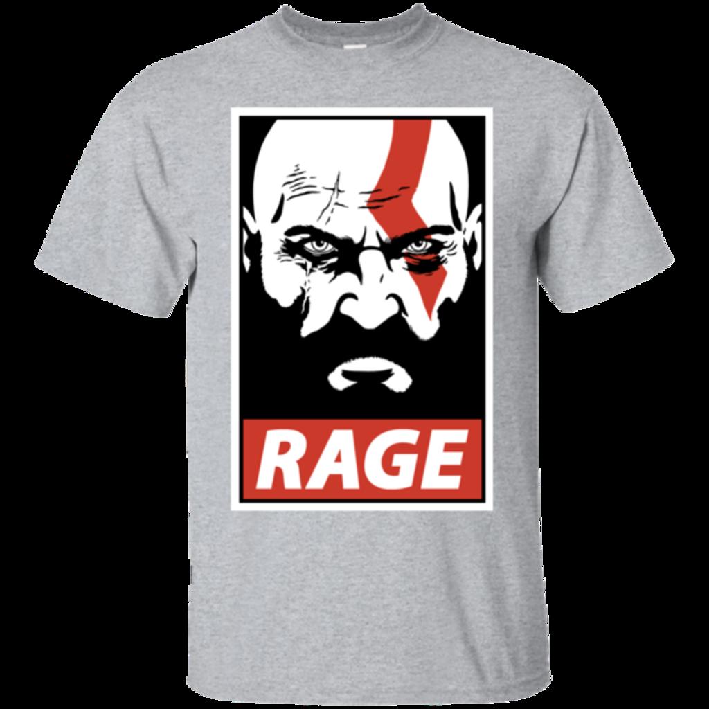 Pop-Up Tee: Spartan Rage