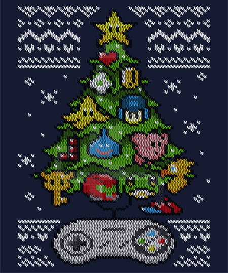 Qwertee: A Classic Gamer Christmas