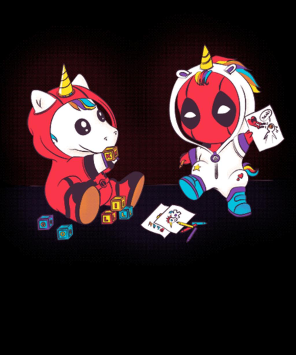 Qwertee: Unicorn Pool Game