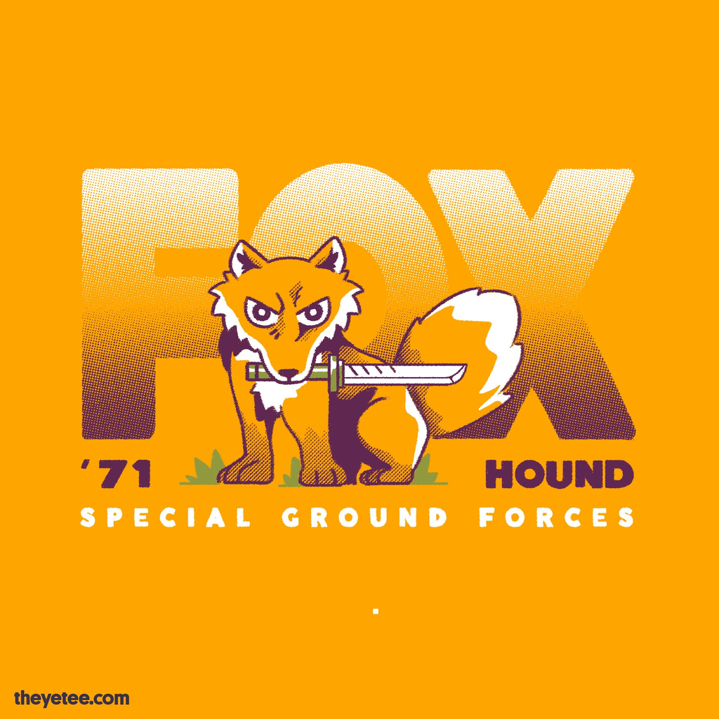 The Yetee: FOXHOUND Gang