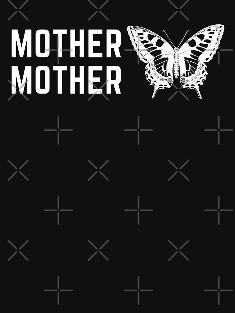 RedBubble: Mother Mother band - Butterfly Silhouette Logo