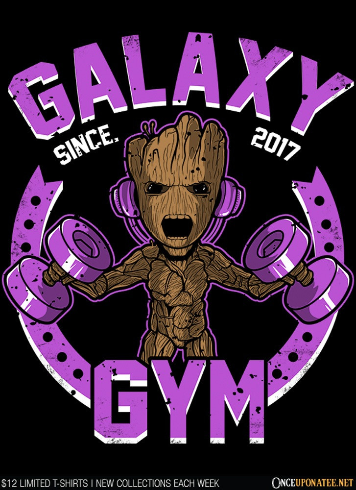 Once Upon a Tee: Galaxy Gym