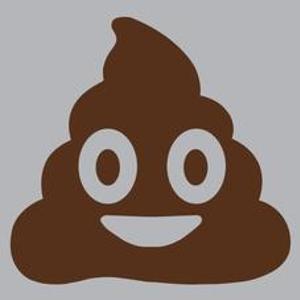 Textual Tees: Poop Emoji