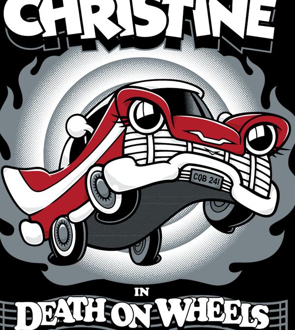 teeVillain: Death On Wheels