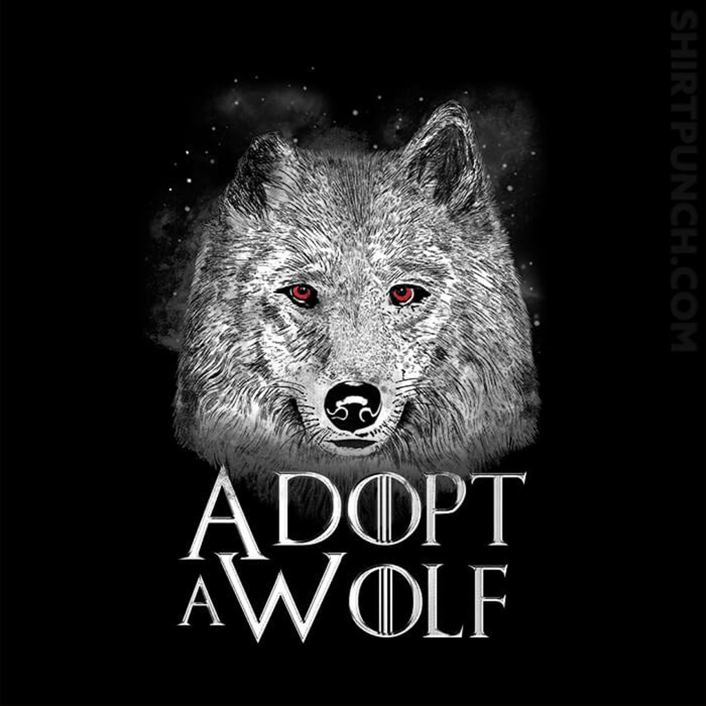 ShirtPunch: Adopt A Wolf