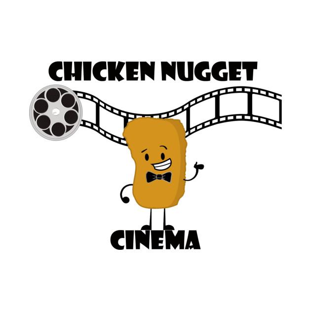 TeePublic: Chicken Nugget Cinema