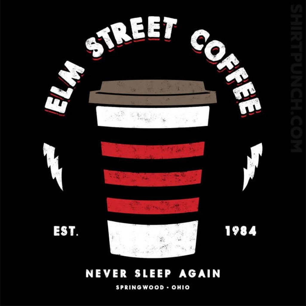 ShirtPunch: Elm Street Coffee
