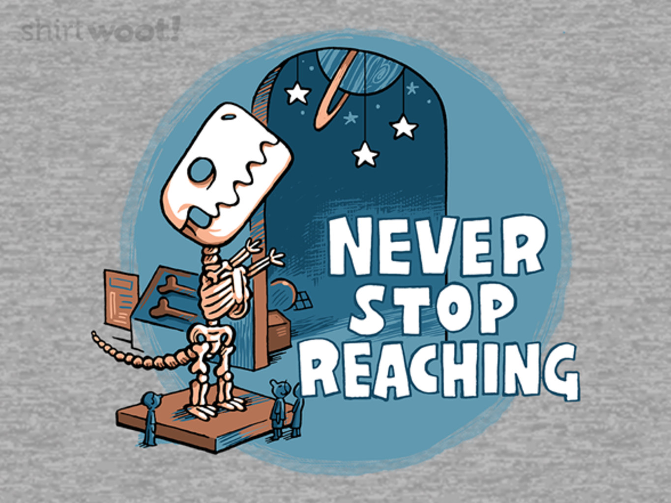 Woot!: Never Stop Reaching