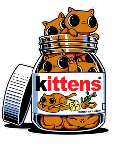 Qwertee: Kitten Spread
