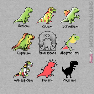 ShirtPunch: T-Rex Art
