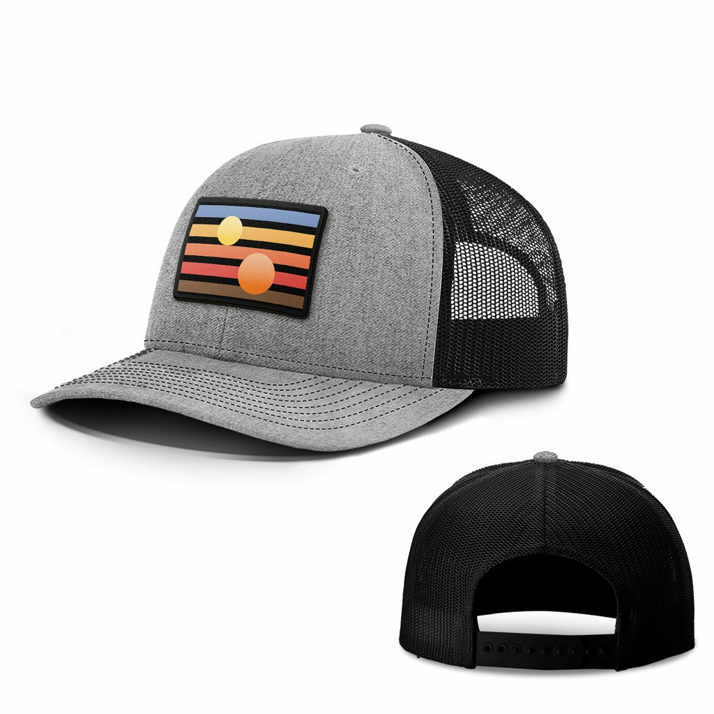 BustedTees: Artistic Tatooine Patch Hats
