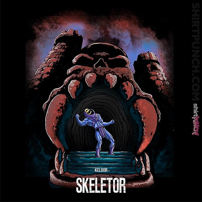 ShirtPunch: The Skeletor