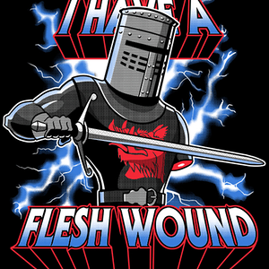 Qwertee: I Have a Flesh Wound