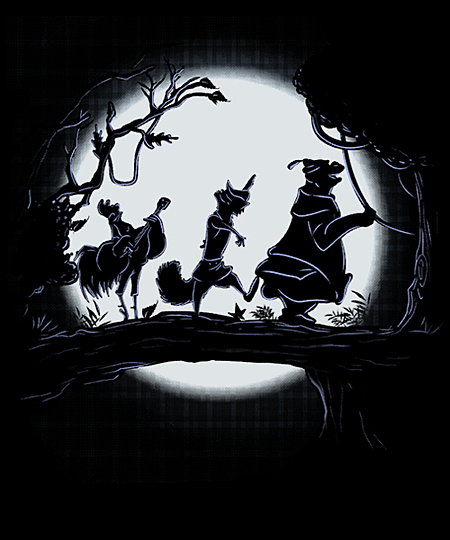 Qwertee: Running Through the Forest