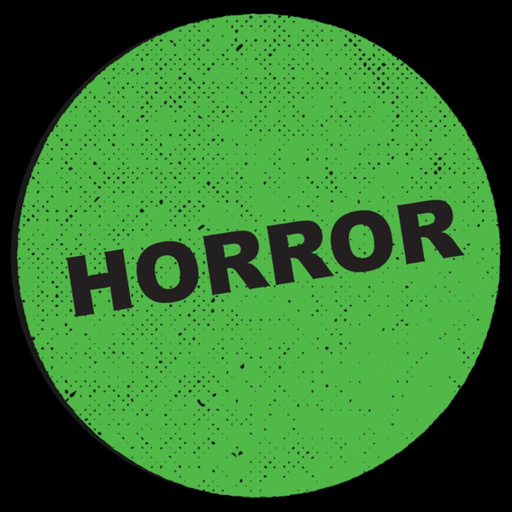 NeatoShop: Horror VHS Sticker