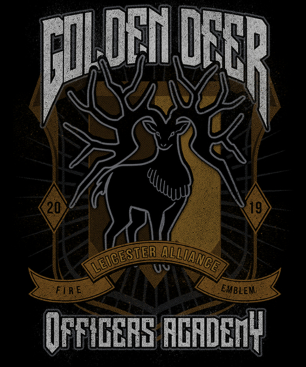 Qwertee: Golden Deer Faction