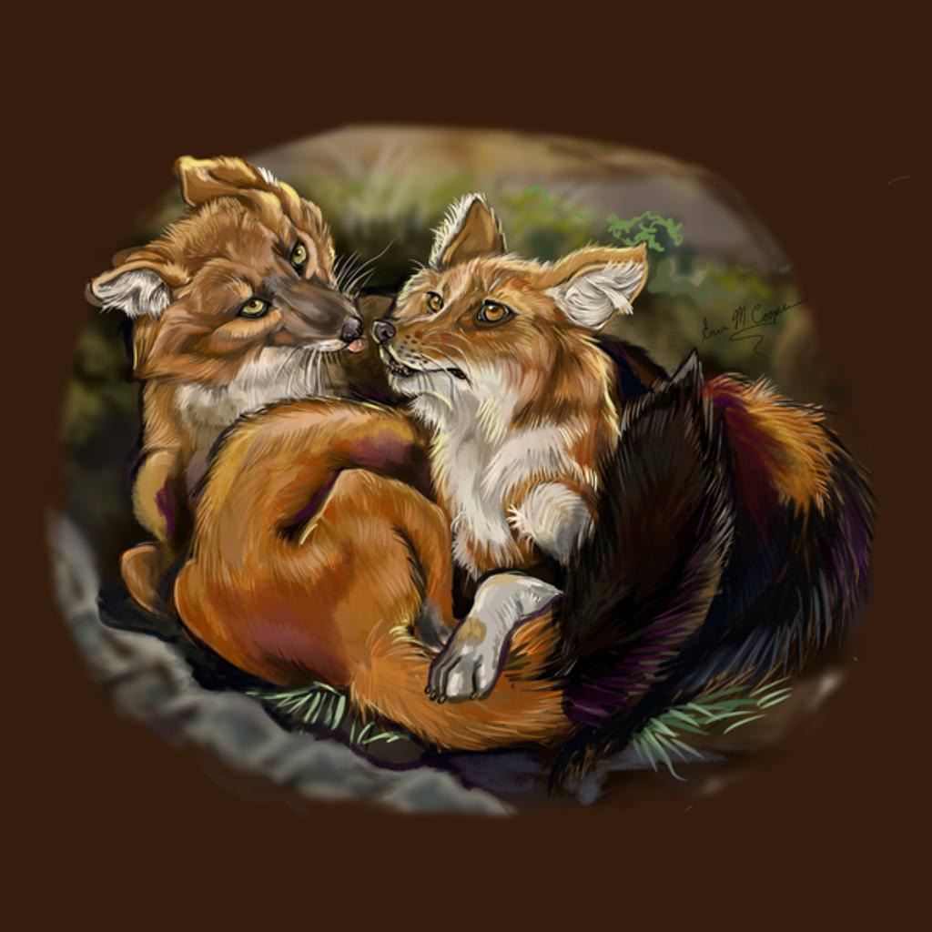 NeatoShop: Dhole Cuddles