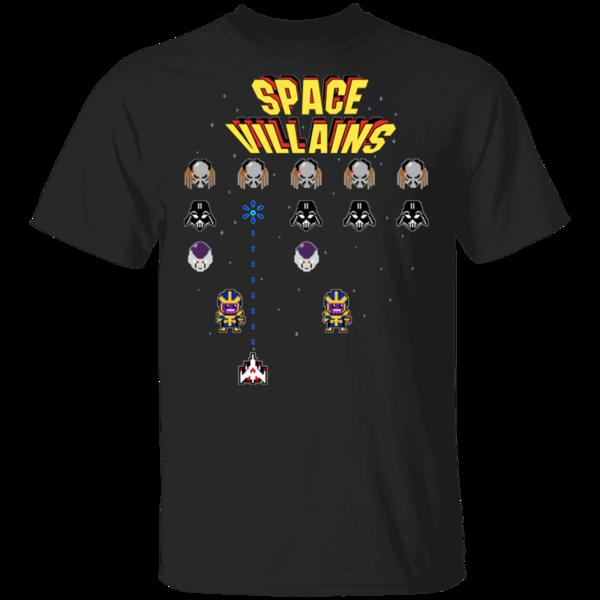 Pop-Up Tee: Space Villains