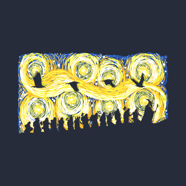 TeePublic: Starry Adventure