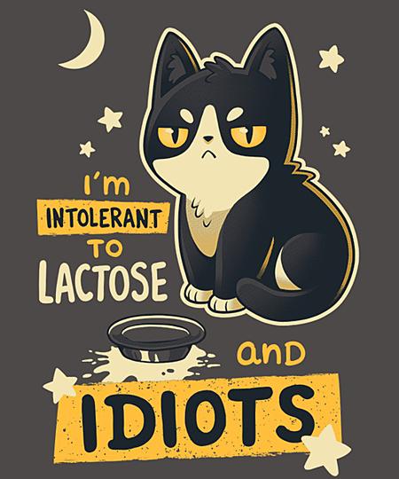 Qwertee: Intolerant
