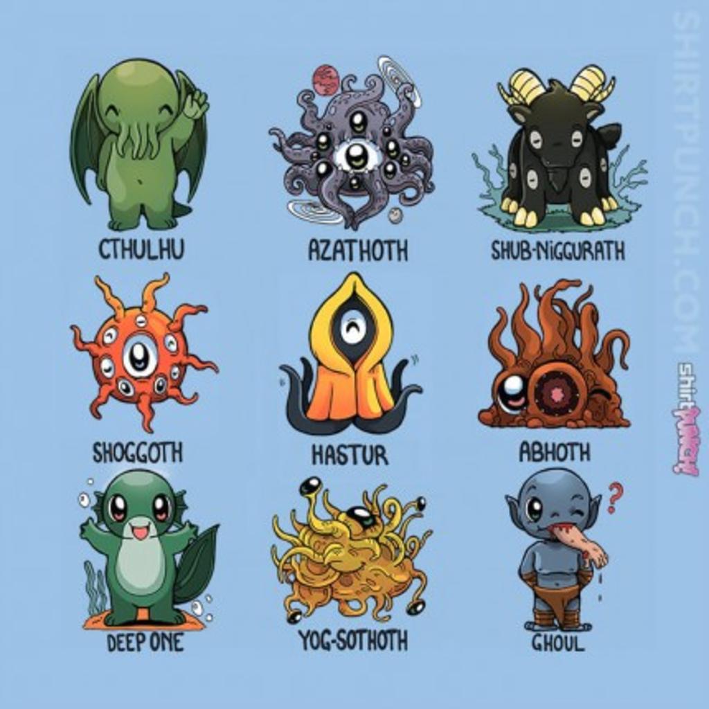 ShirtPunch: Lovecraft Demons