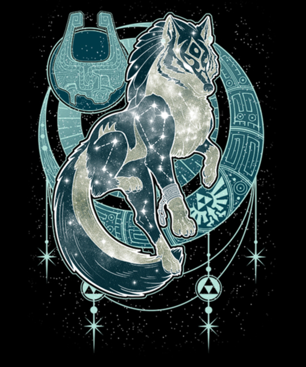 Qwertee: Starry Twilight