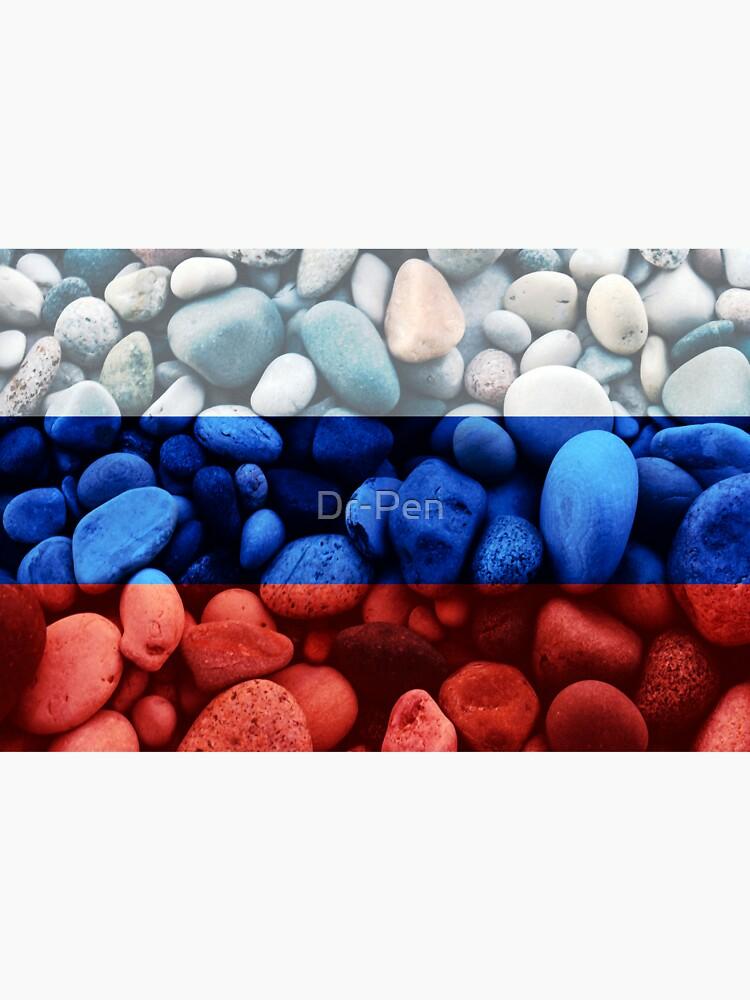 RedBubble: Flag of Russia - Rocks