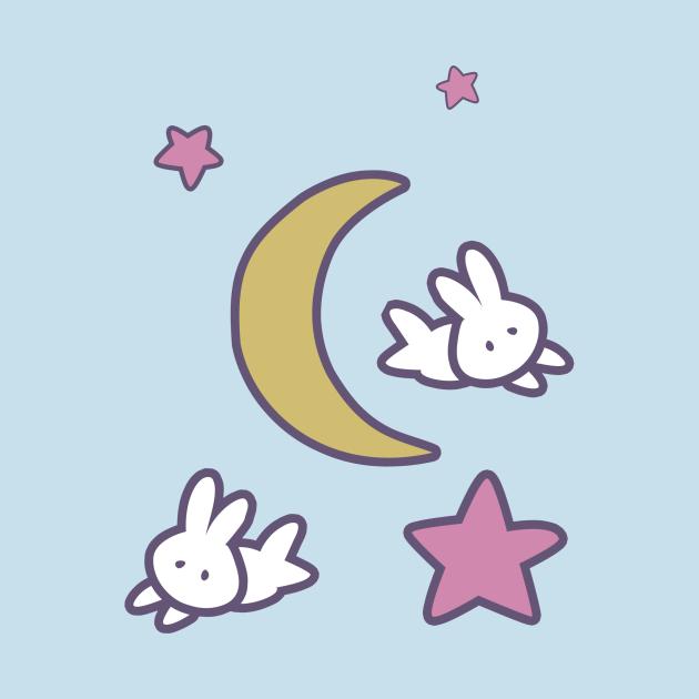 TeePublic: Sailor Moon Usagi Stars Bunny Moon Tshirt