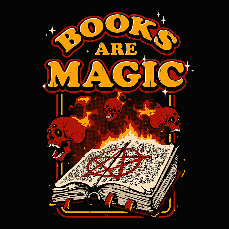 Wistitee: Books Are Magic