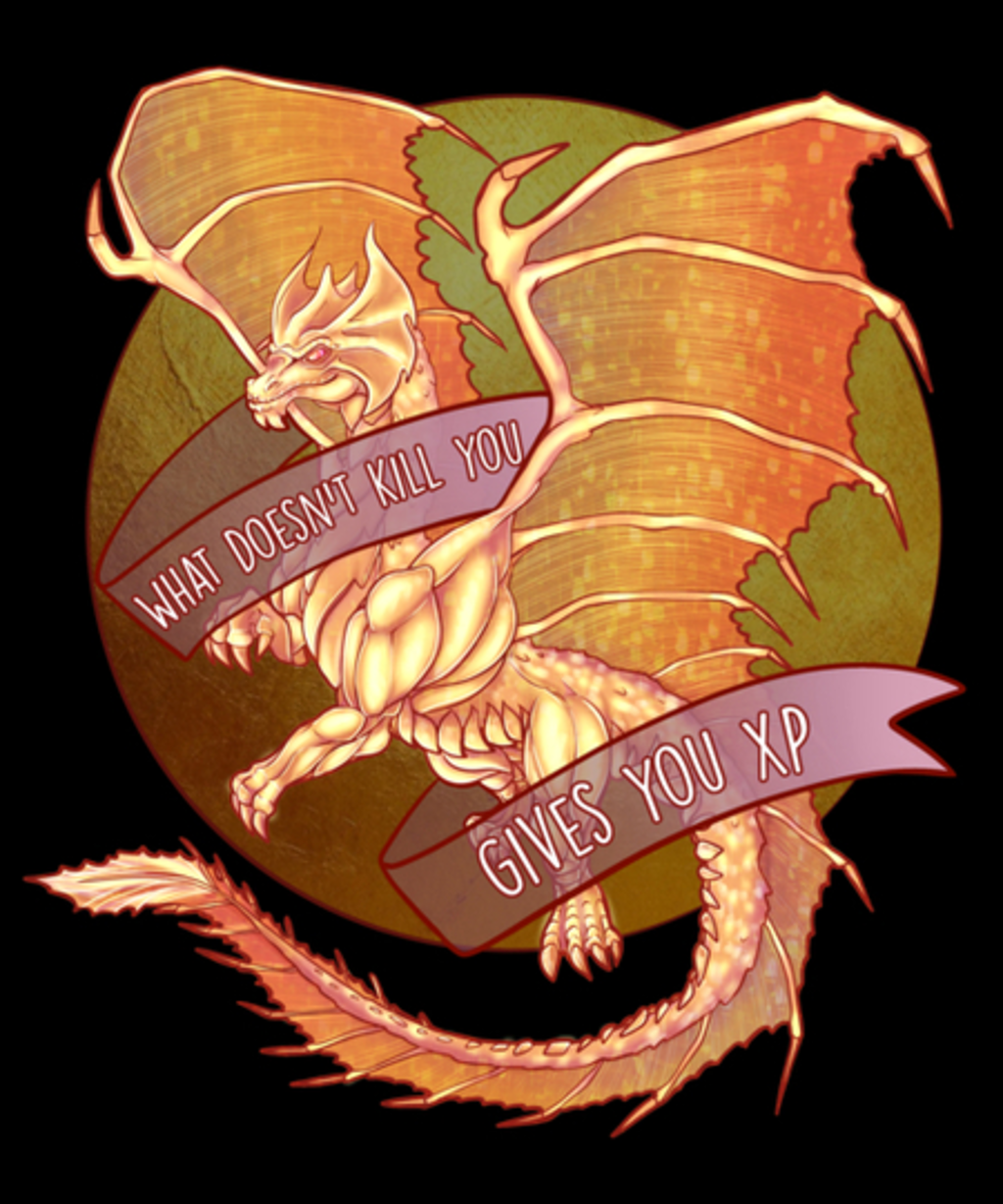 Qwertee: What doesn't kill you, gives you XP