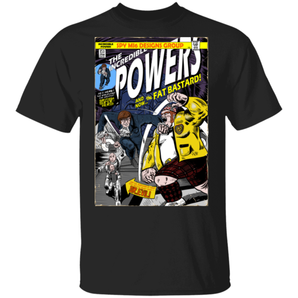 Pop-Up Tee: The Incredible Powers