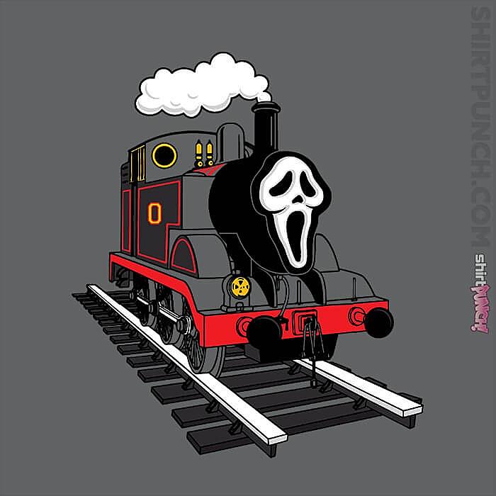 ShirtPunch: Ghostface Train
