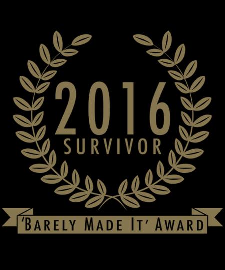 Qwertee: Year 2016 Survivor
