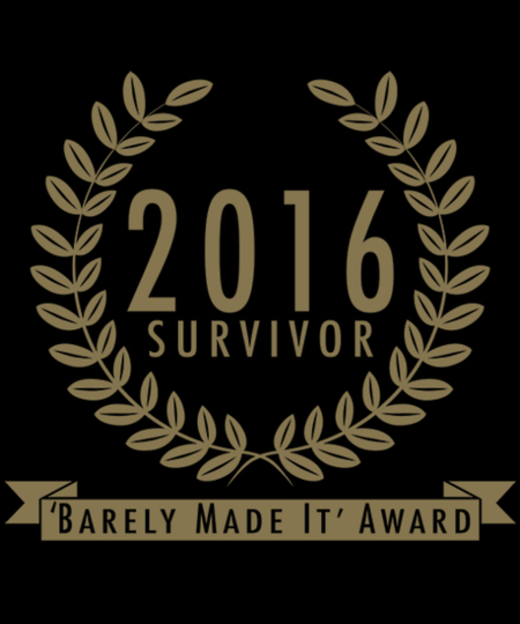 Qwertee: Year 2016 Survivor