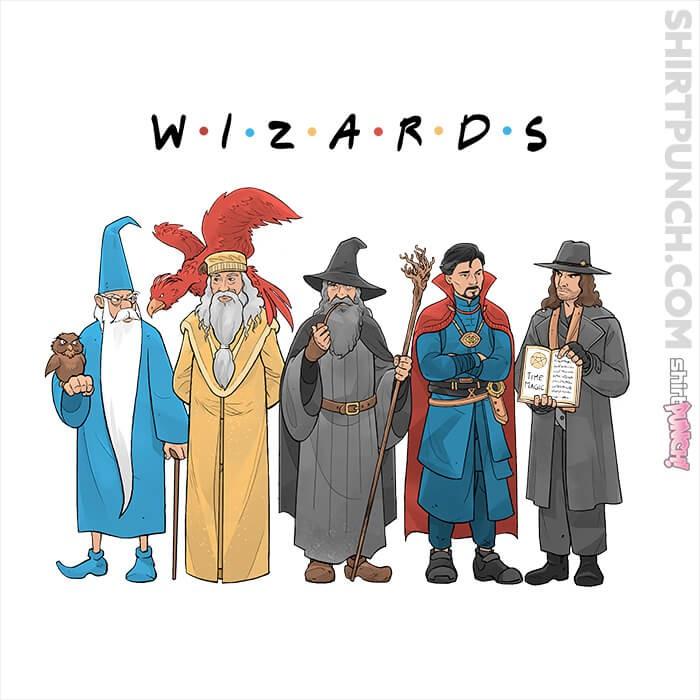 ShirtPunch: Wizards
