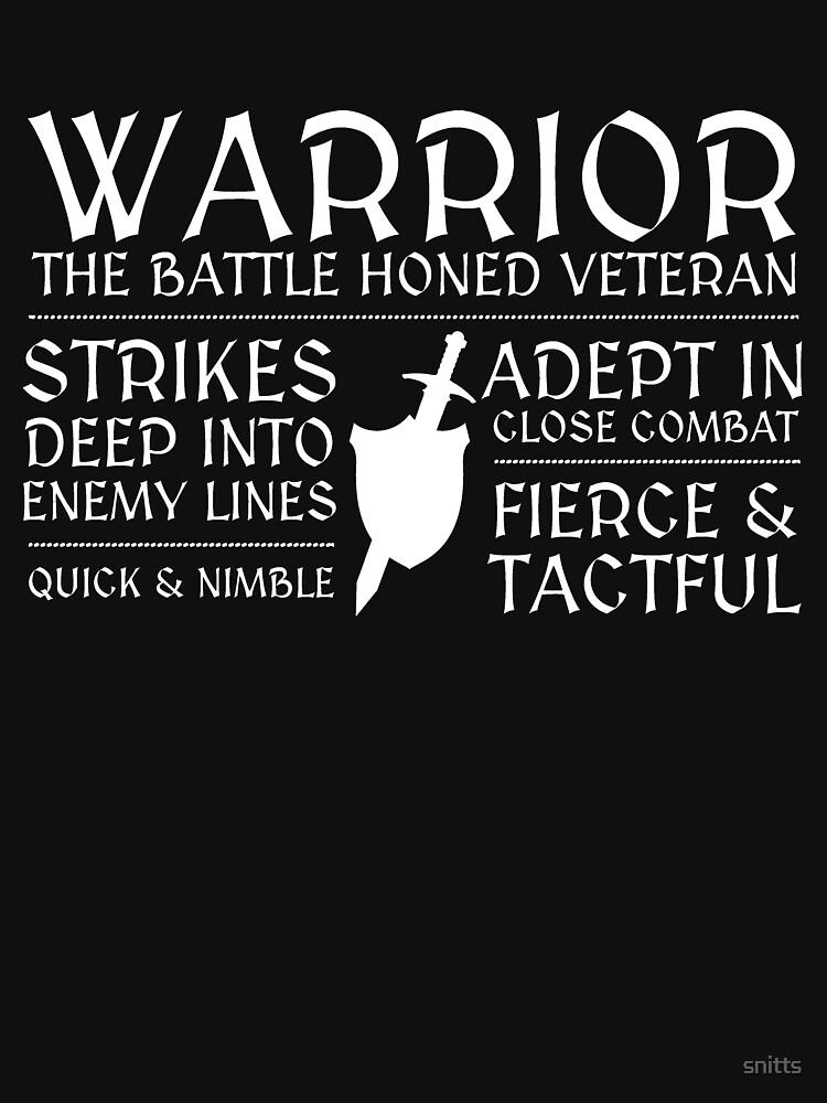 RedBubble: Warrior