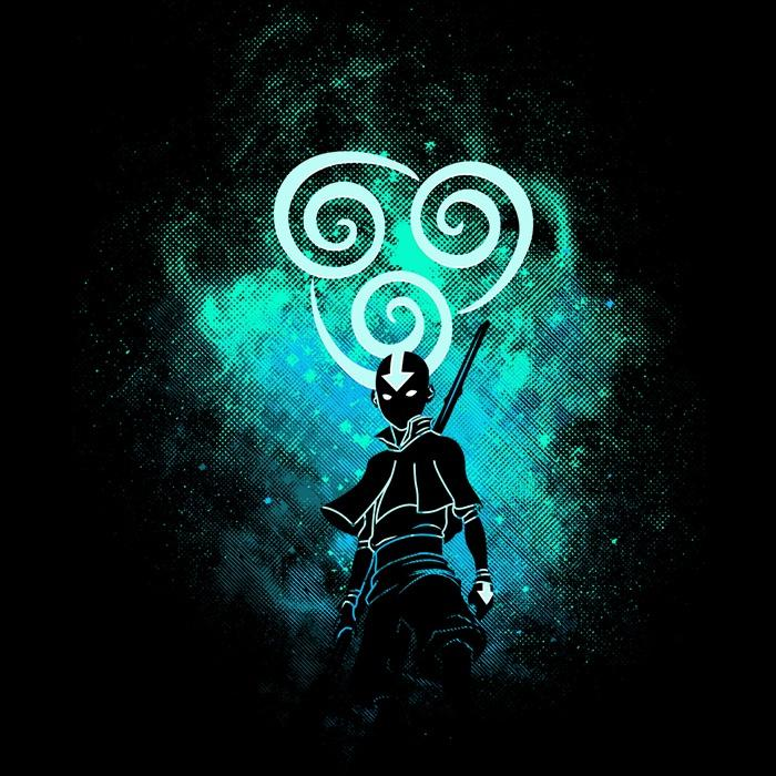 Once Upon a Tee: Air Bender Art